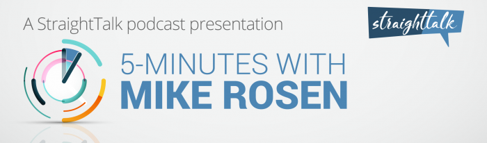 5-minutes with Mike Rosen