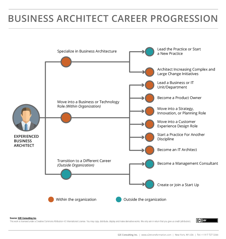 Business Architect Career Progression