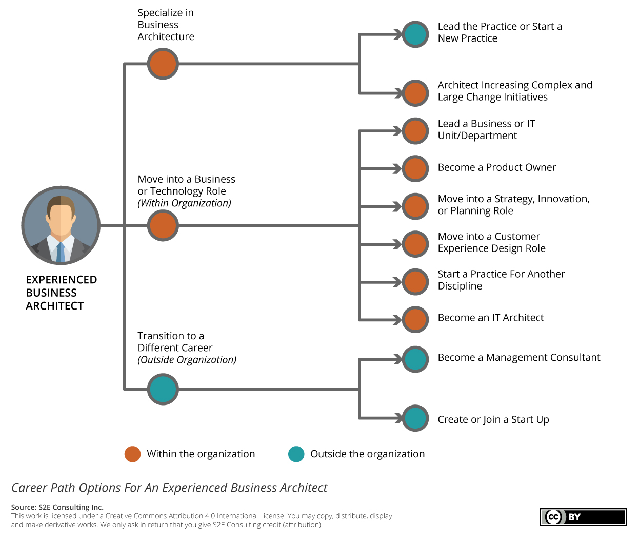 S2E Business Architecture Career Path Options